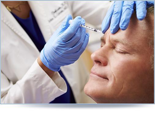 Botox for man, zabieg botoksu botoxu dla mężczyzn